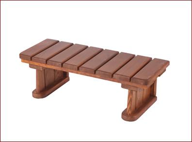 Escalera de madera para p rgolas de 1 escal n todo jard n for Escalera 5 pasos afuera