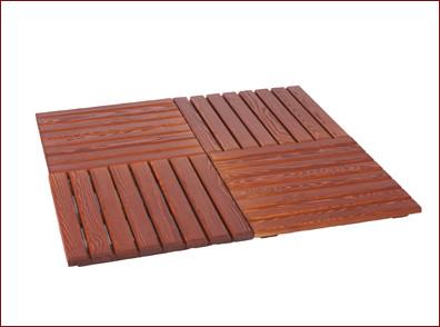 Suelos para pergolas materiales de construcci n para la - Suelo madera jardin ...