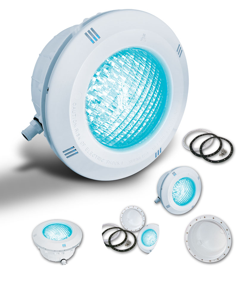 Foco led para piscinas rgb enersoluz todo en piscinas y - Focos piscina led ...