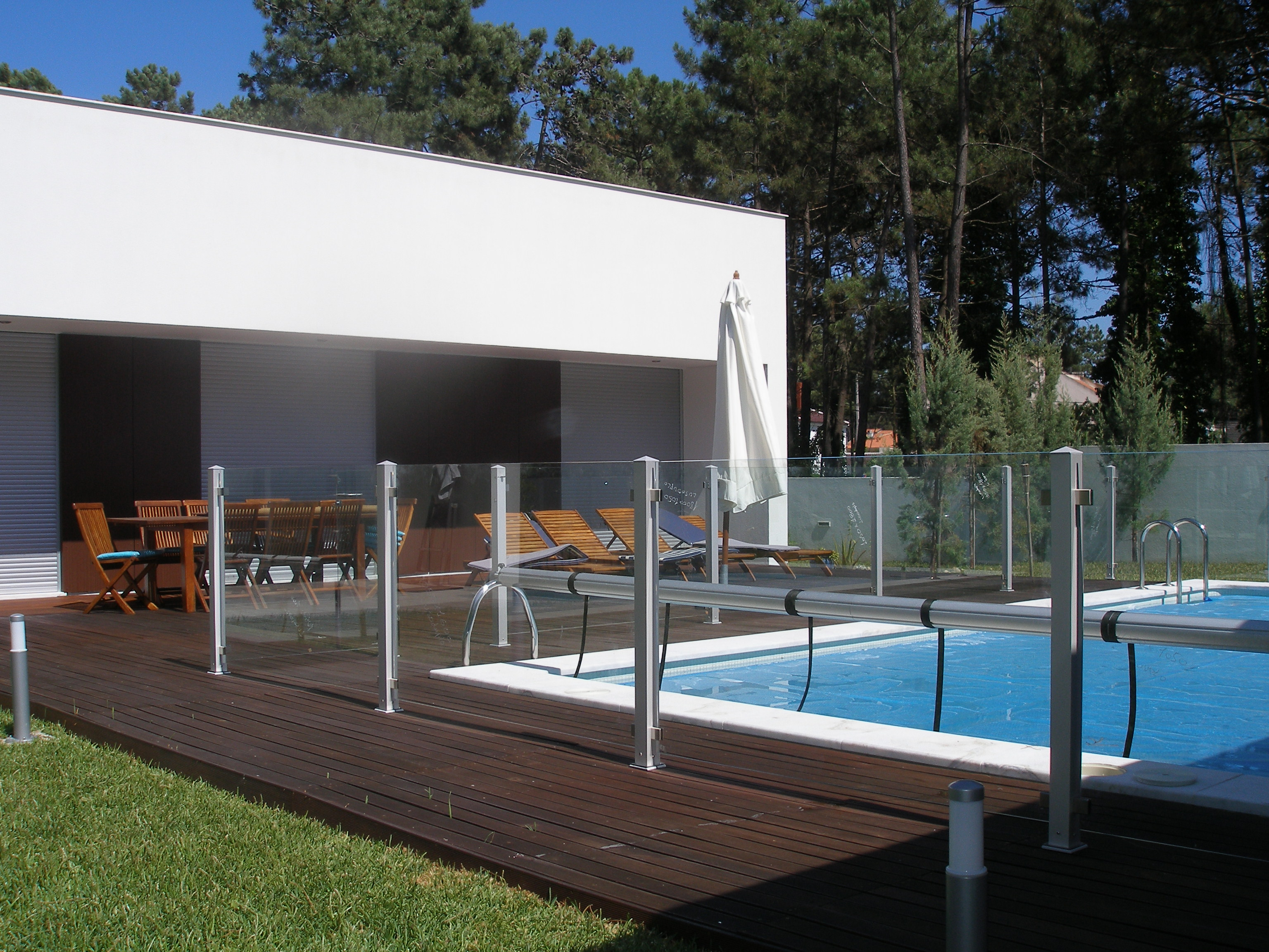 Valla piscina segunda mano top valla de pvc picket fence for Piscinas segunda mano
