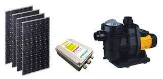 Solar energy pump system for pools