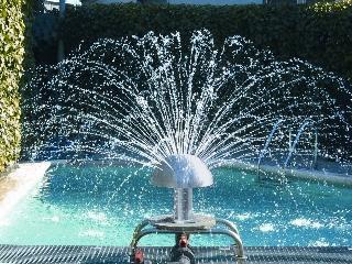Fuente de piscinas setas de agua 250mm todo en piscinas y - Fuentes para piscinas ...