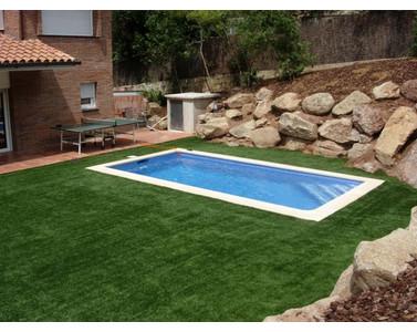 Piscina de obra de hormigon de 8x4 todo en piscinas y jard n - Costo piscina 8x4 ...