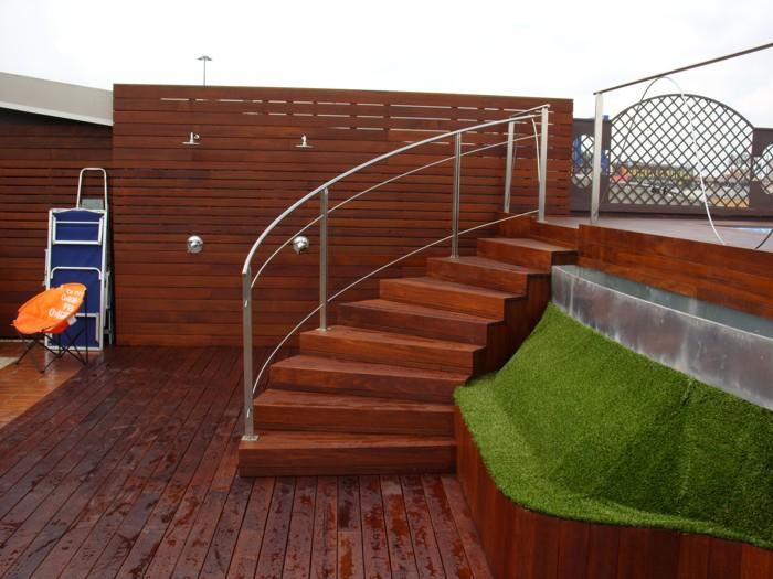 Protector suelo para piscinas 8 piezas de 50x50cm de for Piscinas sobre suelo