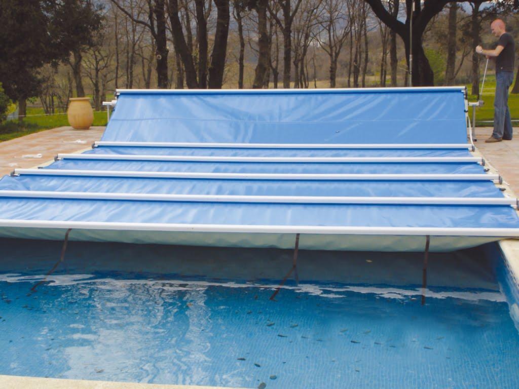 cobertor deslizante de seguridad para piscinas mantas