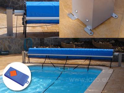 Mantas t rmicas cobertores y enrolladores todo en piscinas - Fundas para piscinas ...