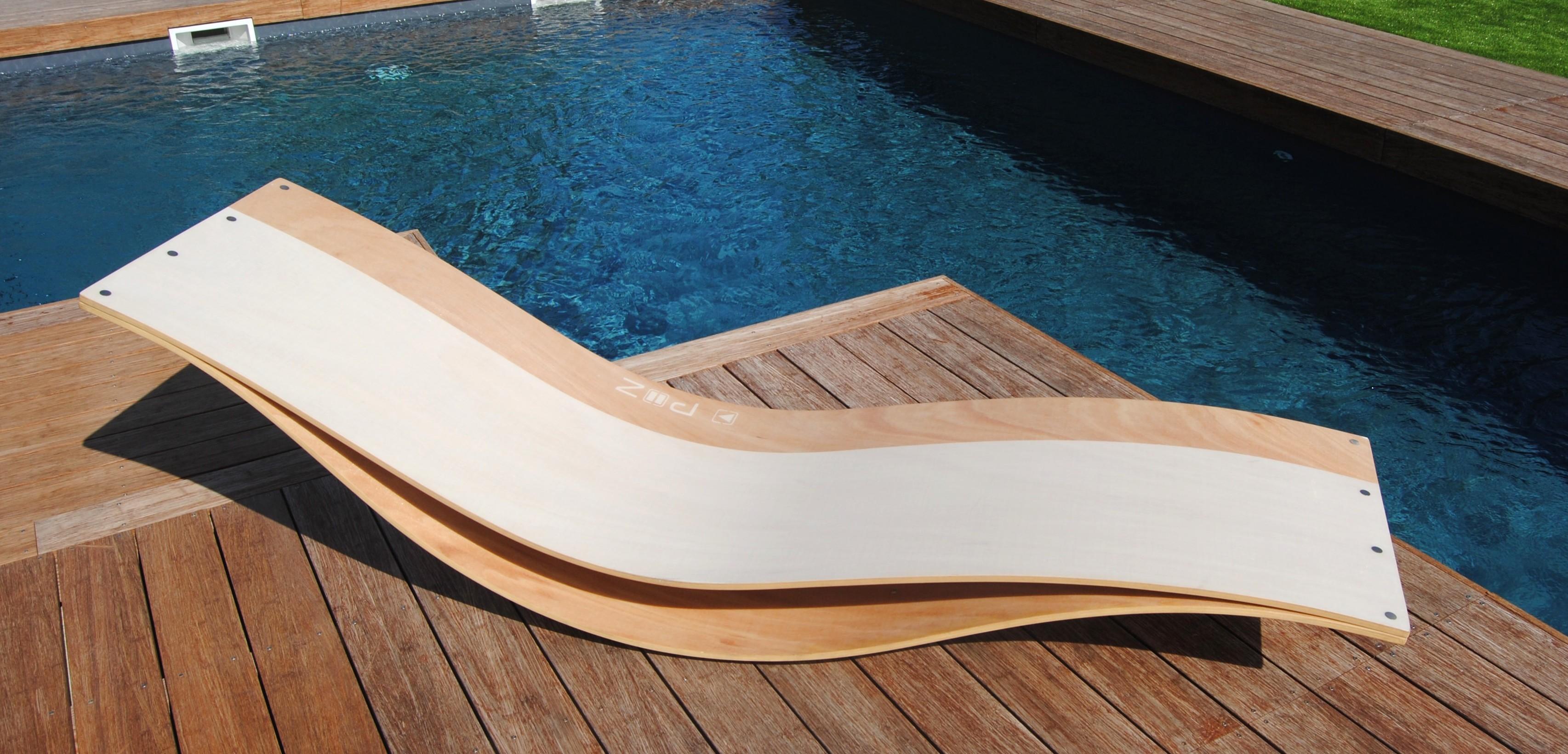 Tumbona de madera modelo nami todo en piscinas y jard n for Banda del sol jardin olvidado