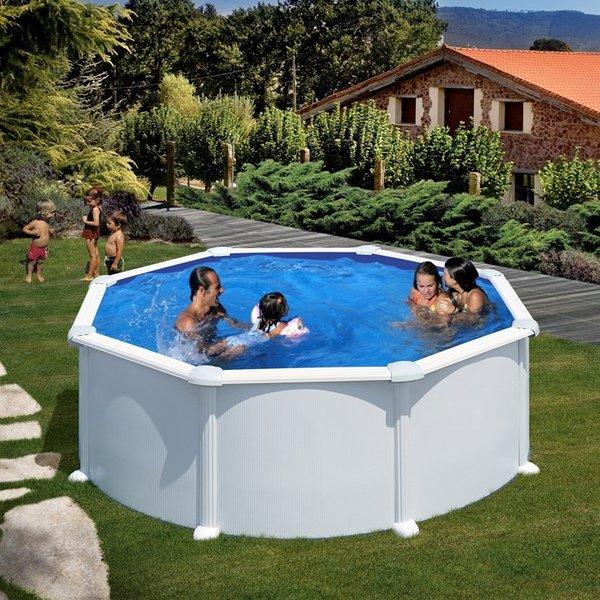 circular atlantis agp pool x 132 cm above ground pools. Black Bedroom Furniture Sets. Home Design Ideas