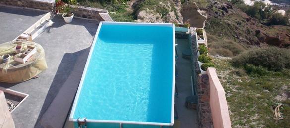 Piscina elevada rectangular de piscinas for Piscinas desmontables grandes