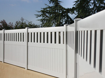 Valla h brida para jardines centauro todo en piscinas y for Vallas de aluminio para jardin