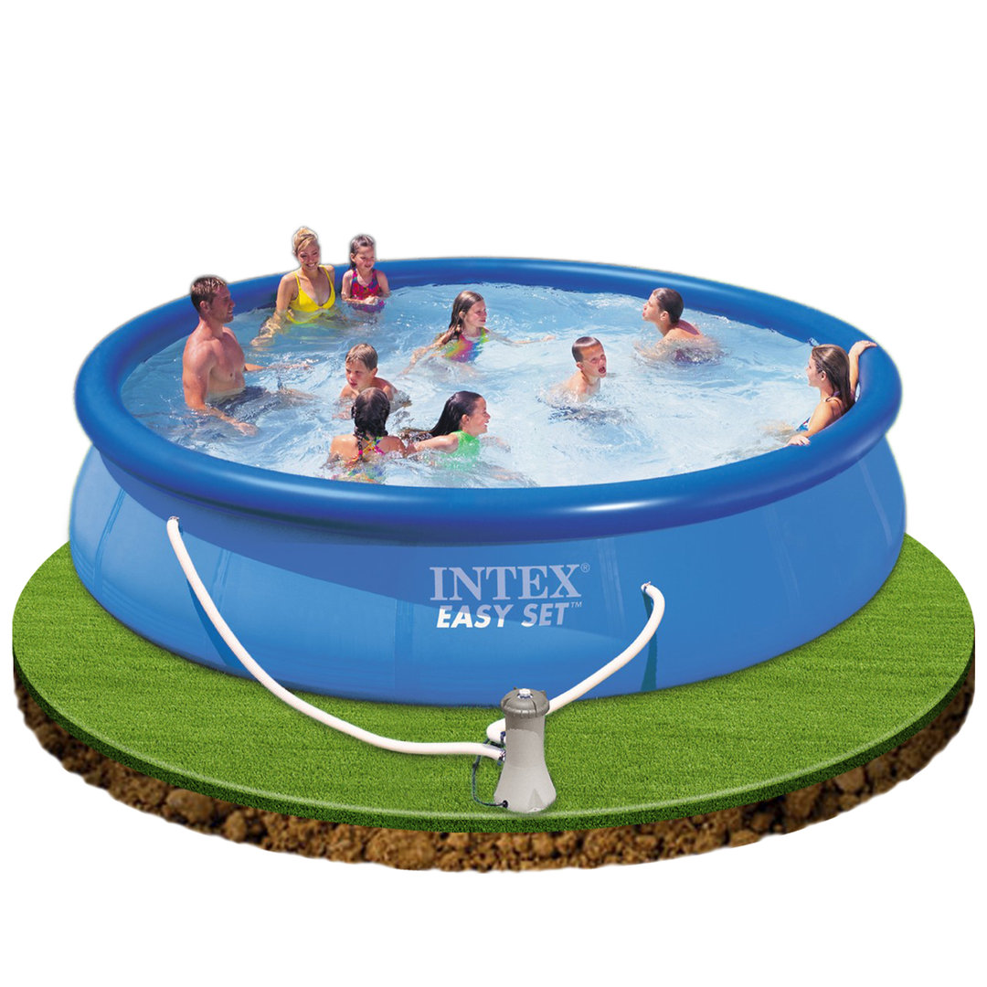 Easy set pool 457x107cm with filter removable pool for 7in1 set garten pool 457 x 91 cm