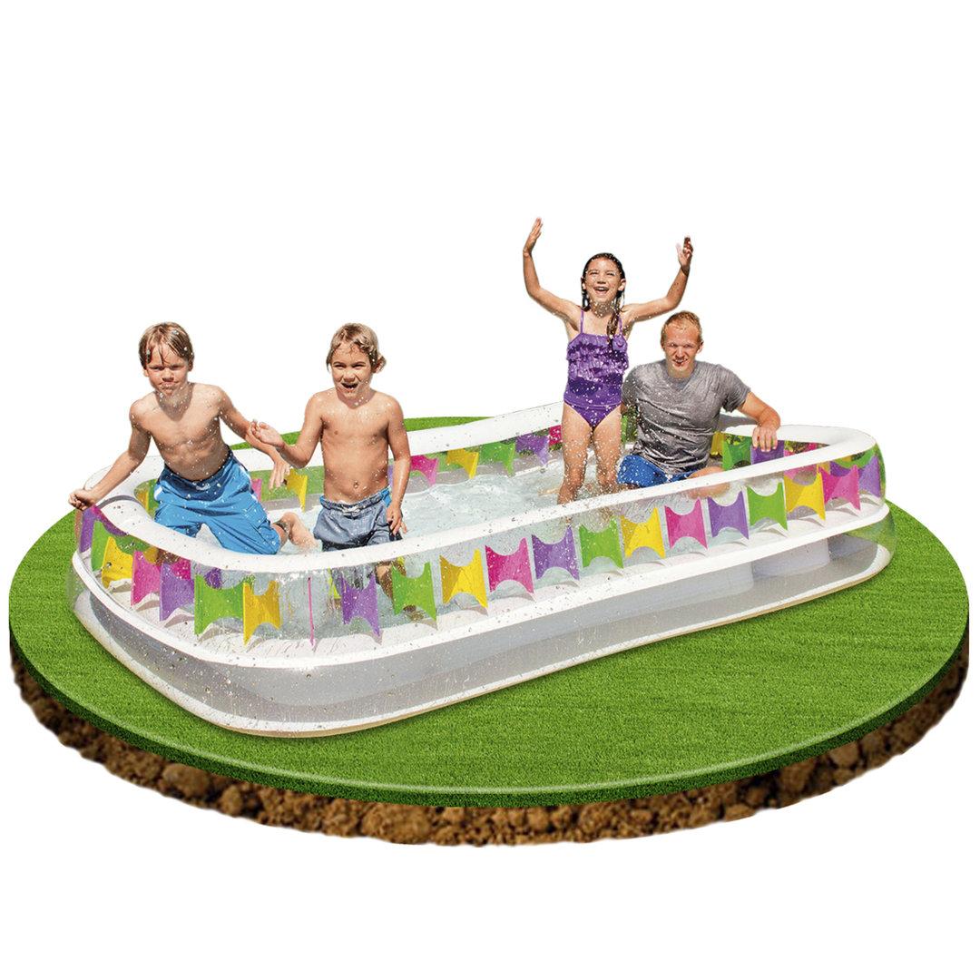 Piscina infantil hinchable 295x175x53cm piscina para ni os for Piscina infantil