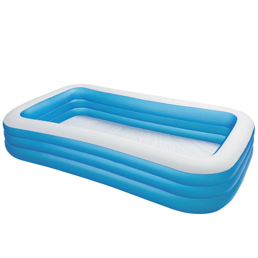 Piscina hinchable azul de 305x183x56cm piscina desmontable - Hinchables para piscina ...