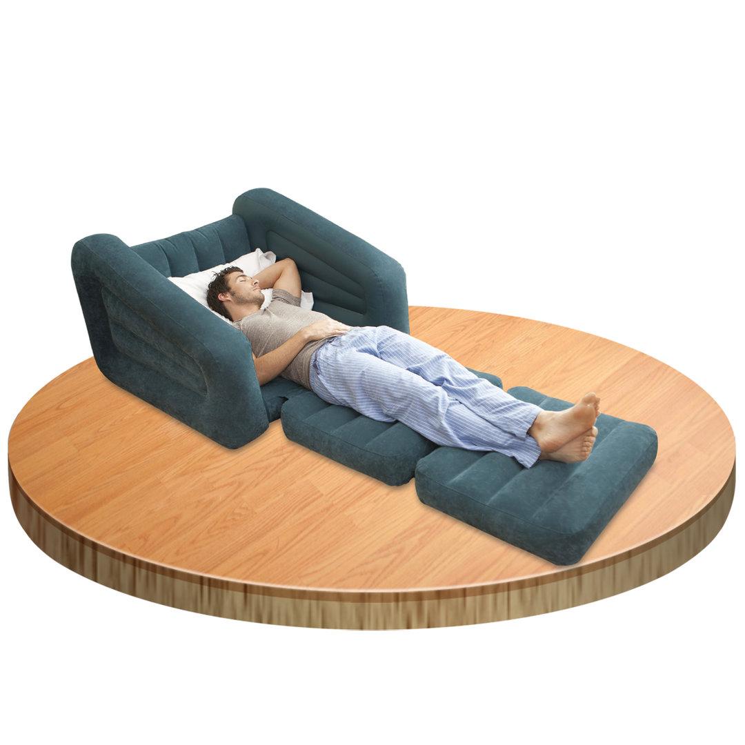 Sill n cama individual cama hinchable for Sillon cama individual