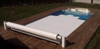 Manual floating cover 6 x 3 m