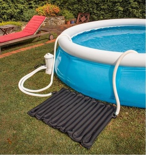 Solar heating for small pools