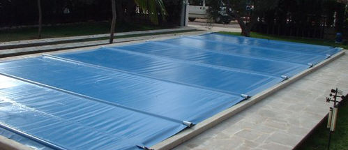 Winter bar swimming pool cover