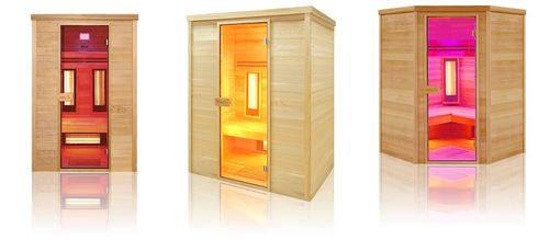 Sauna infrarouge multi-ondes Dual Healthy