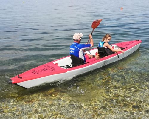 Inflatable kayak17 for 2 people Dropstich system